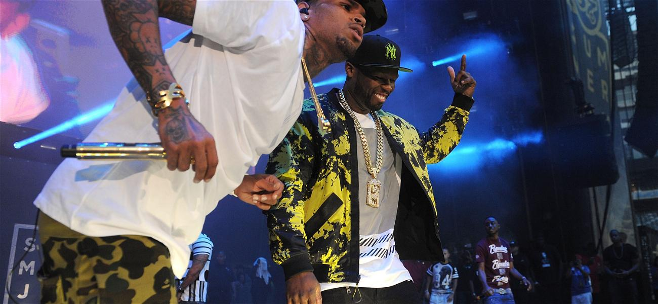 50 Cent Doubles Down On Claim Chris Brown is BETTER Than Michael Jackson