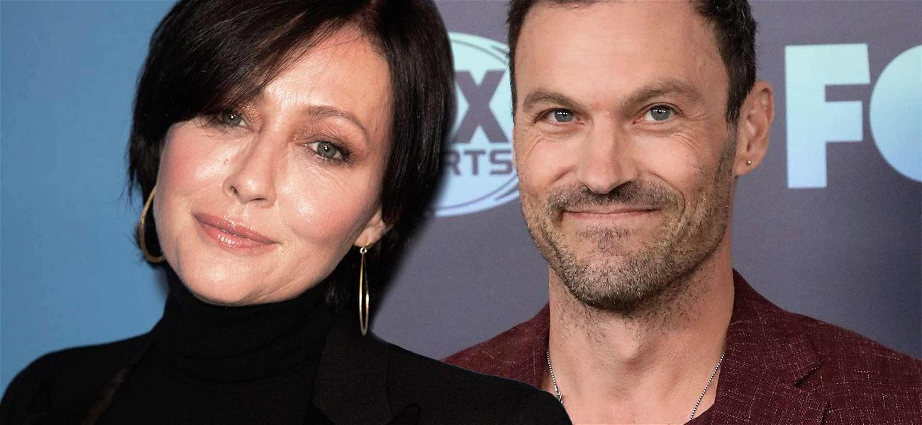Shannen Doherty Makes First Appearance With '90210' Co-Star, But Not With Tori or Jennie