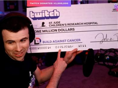 DrLupo Giving All Tips From Twitch To Charity, 'Forever'