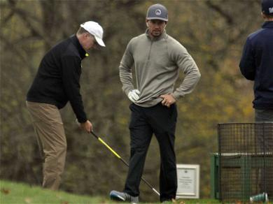 Mark Wahlberg and Will Ferrell Hit the Fairways for Some 'Daddy' Time