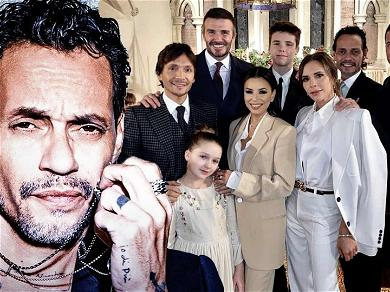 Marc Anthony Bonds With The Beckhams In First Post Since Boat Explosion