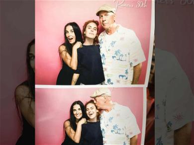 Bruce Willis & Demi Moore Reunite for Daughter's 30th Birthday