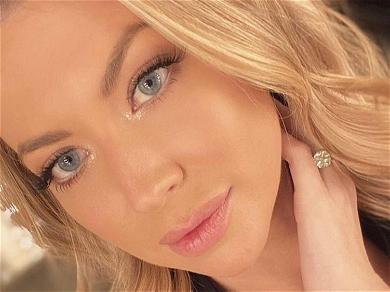 Stassi Schroeder Reveals Pregnancy Swellings In Strapless Slit Dress