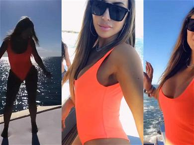 Larsa Pippen Jams Out in Miami While the Kardashian Drama Continues on the West Coast
