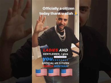 French Montana Receives U.S. Citizenship, Celebrates Like True American