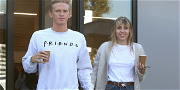 Miley Cyrus Busts a Move in Lacy Bra With Boyfriend Cody Simpson!