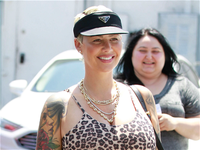 Amber Rose Shares First Post With Newborn Son, Includes Breastfeeding Video