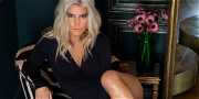 Jessica Simpson Spreads Legs Wide Open In Pantless Sofa Shot