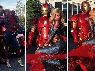Kardashians Assemble! Kylie Jenner Throws Travis Scott 'Avengers' Party