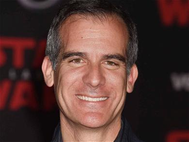 L.A. Mayor Eric Garcetti Target of 'Chemical Bomb' Threat; Suspect Arrested & Charged w/ Felony