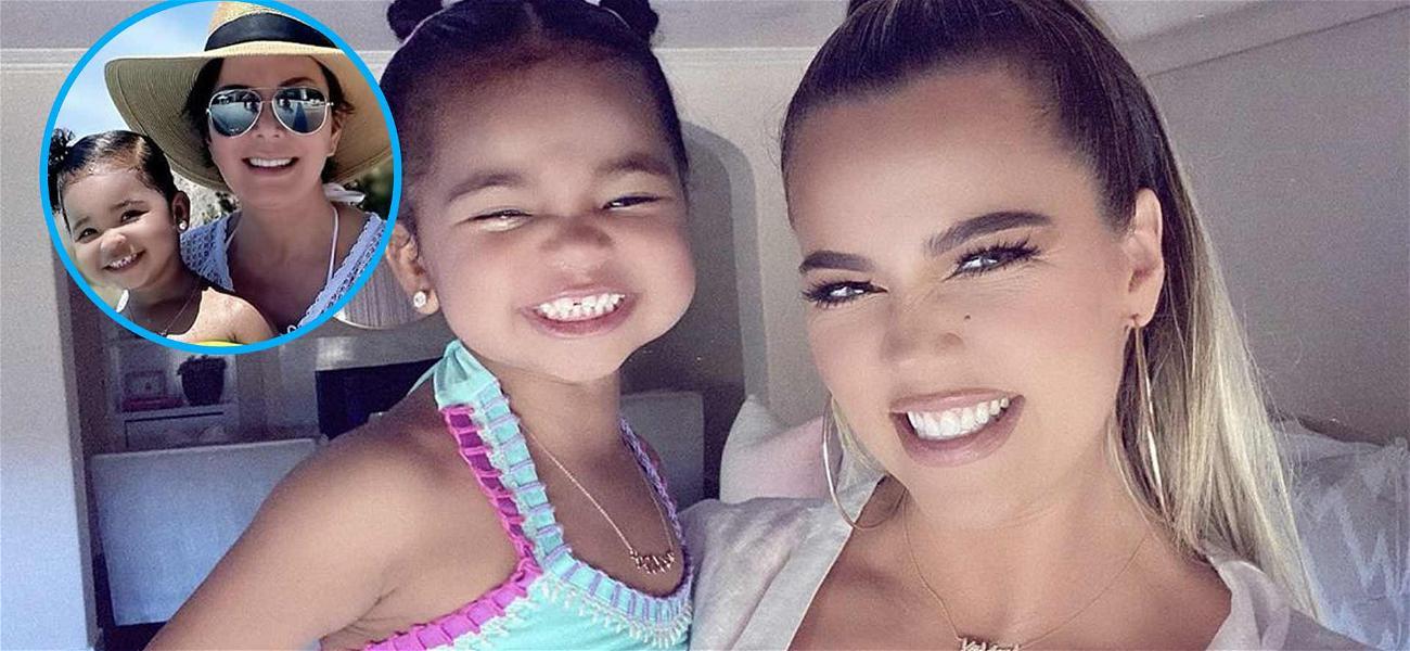 Khloe Kardashian's Truly Adorable Pics Of Baby True With Grandma Kris Jenner