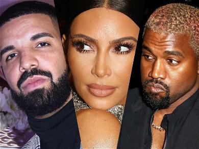 Drake Unfollows Kim Kardashian on Instagram After Kanye Threats