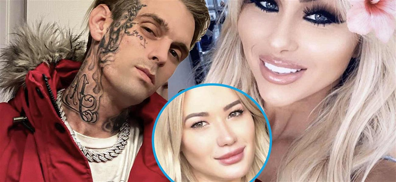 Aaron Carter Flaunts New Relationship Days After Baby Mama Shares Sonogram