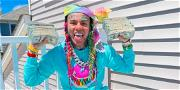 Social Media Reacts To Tekashi 6ix9ine Showing Off New Music And Image