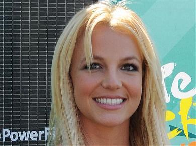 Britney Spears Is Tinkerbell Twirling In Skimpiest Spandex