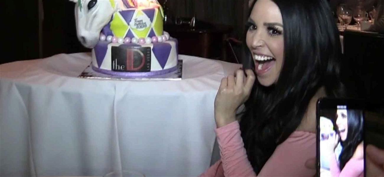 'Vanderpump Rules' Star Scheana Marie Devours Unicorn Bday Cake Before Ziplining Over Vegas