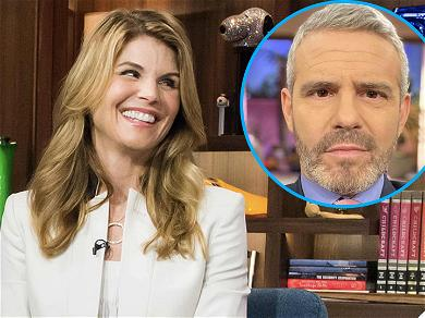 Andy Cohen Spills The Tea On Lori Loughlin Joining 'RHOBH'