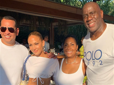 J Lo & A-Rod Among Magic Johnson's Star-Studded 60th Birthday Guests!