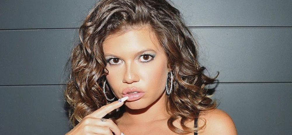 Chanel West Coast Climbs Stairs In Thigh-Highs Without Visible Underwear
