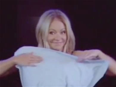 Kelly Ripa's Co-Worker Shocks In Shirtless Halloween Costume