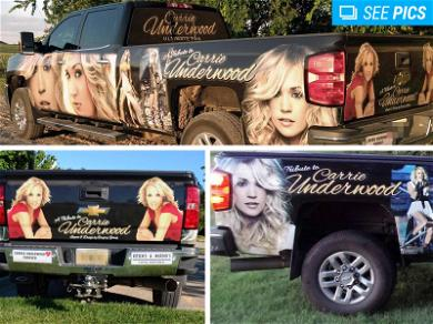 Famous Carrie Underwood Tribute Truck Was Created to Honor Man's Late Wife