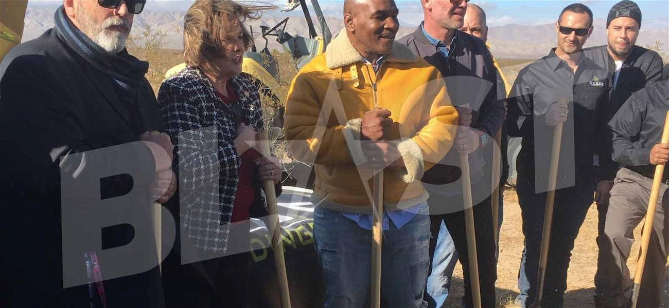Mike Tyson Preparing to Revolutionize Marijuana Industry, Breaks Ground on 'Tyson Ranch'