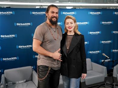 Amber Heard Calls Out Instagram's Nudity Double Standard With A Little Help From Jason Momoa