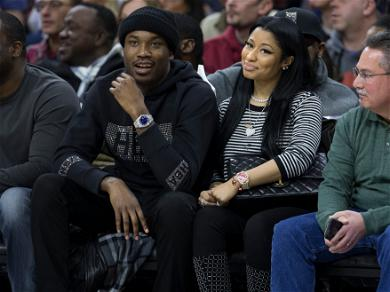 Nicki Minaj And Meek Mill Get Into An Altercation at Maxfield Clothing Store