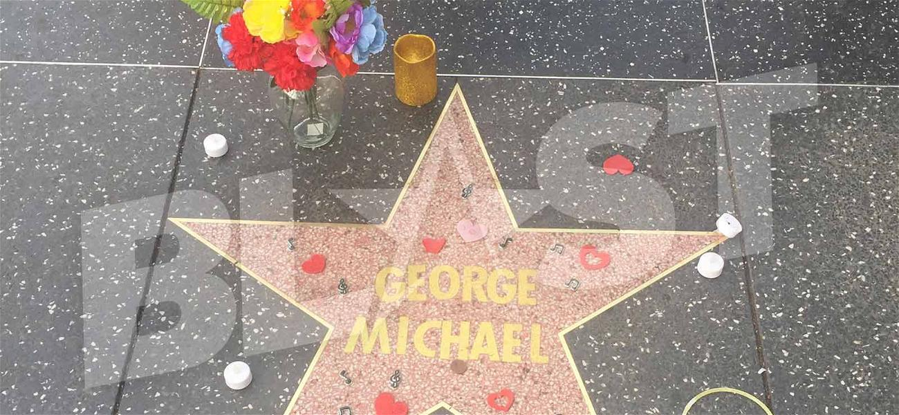 George Michael Gets Unofficial Posthumous Walk of Fame Star