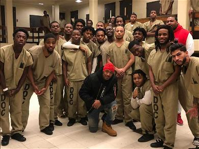 Nick Cannon Pays Visit to Chicago Jail to Speak with Inmates