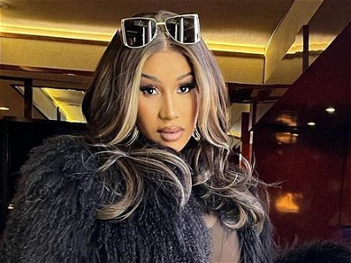Cardi B Gets Really Cheeky In Sheer Dress To Show She's A ClASSy Lady