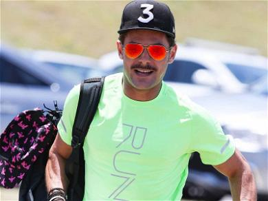 Zac Efron Reveals His Lady Tickler During Beach Workout