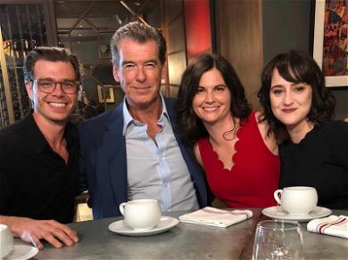 Pierce Brosnan Reunites With 'Mrs. Doubtfire' Kids for Film's 25th Anniversary