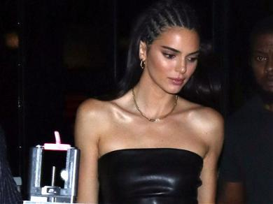 Kendall Jenner's Crotch Is Creeping People Out In Revealing Pink Disco Outfit