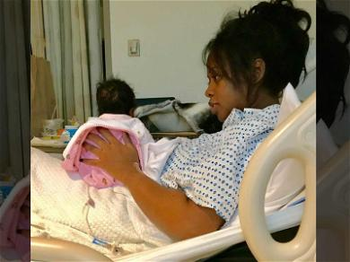 Remy Ma Shares First Photo of Newborn Daughter!