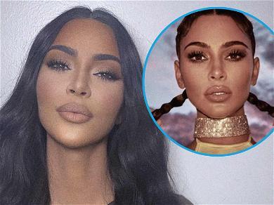 Kim Kardashian Snaps Necks With Hot Body In Yellow Bikini