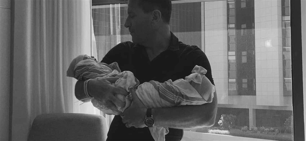 Kym Johnson and Robert Herjavec Welcome Twins!