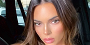 Kendall Jenner Playfully Tugs Her Bikini Bottoms From Secret Tropical Location