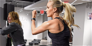 Carrie Underwood Shows Off Jaw-Dropping Workout Body In Ribbed Tank From Brick Porch