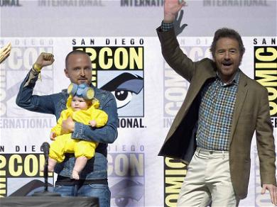Aaron Paul's Daughter Wins Comic-Con Dressed as Lil' Walter White at 'Breaking Bad' Panel
