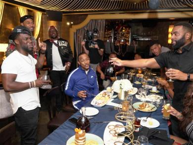 Kevin Hart Parties in Vegas For 39th Birthday With Lavish Dinner