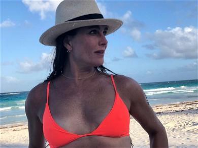 Brooke Shields Shows Off PERFECTLY Toned Bikini Body In New Sexy Photoshoot