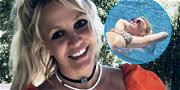 Britney Spears' Bikini Body Is Straight FIRE During Sexy Pool Session