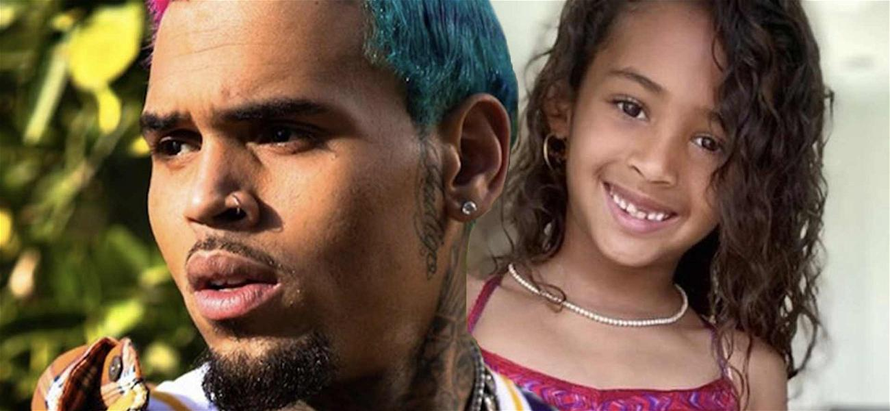 Chris Brown All Smiles Dancing With Daughter Royalty After Ammika Harris Breakup