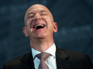 'Amazon' Boss Jeff Bezos Just Got $13.2 Billion Richer In Just 15 MINUTES!!