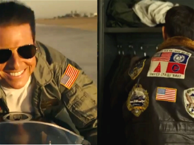 'Top Gun: Maverick': Patches On Tom Cruise's Jacket Spark Controversy