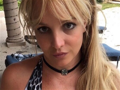 Britney Spears Uses Sweat-Drenched Body To 'Speak For Me' In Gravity-Defying Shorts