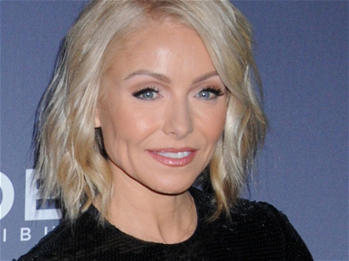 Kelly Ripa Absent From 'LIVE' After Flashing 'Nice n Naughty' Cleavage