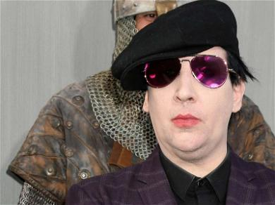 Marilyn Manson Crushed By Stage Prop, Hospitalized