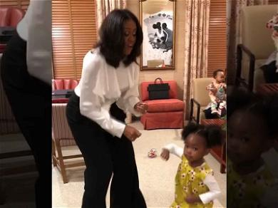 Michelle Obama Had the Cutest Dance Party with Her Tiniest Fan